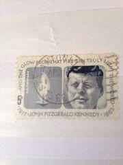 Briefmarke von John F Kennedy