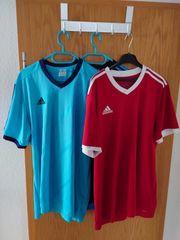 Drei Adidas Climalite Sport Shirts