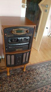 Musikanlage Plattenspieler CDSpieler Kassettenrekorder NOSTALGIE