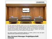 Key Account Manager Projektgeschäft m