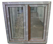 Kunststofffenster Fenster 100x100cm bxh 2-fl