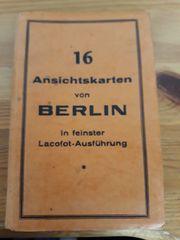 VHS 16 ANSICHTSKARTEN- BERLIN - 20er