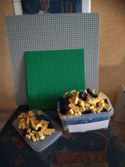 Legoplatten inklusive Lego