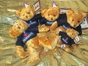 Teddybären Plüsch neu mit Etikett