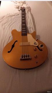 Bass-Gitarre Epiphone signiert Jack Casady