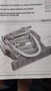 Fahrradträger für Anhängevorrichtung Original VW