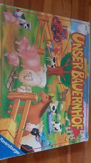 unser Bauernhof Brettspiel ab 4