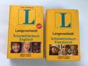 Langenscheidt Schulwörterbuch Englisch Französisch