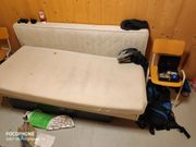 Couch Sofa Schlafcouch Eckcouch Klappsofa -