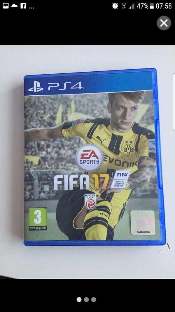 Ps4 Fifa17 Spiel Playstation 4