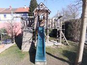 Spielturm Spielhaus mit viel Zubehör