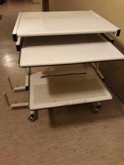 Metall Pc Tisch mit 2