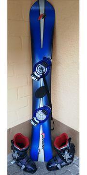Snowboard Speedster mit Raichle Stepin