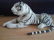 Plüschtier weißer Tiger