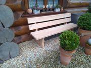 Rustikal Gartenbank Massivholz Gartenmöbel Lärche