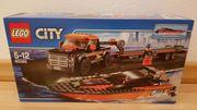 Lego 60085 Allradfahrzeug mit Powerboot