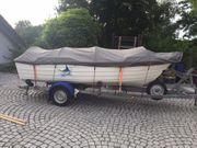 Angelboot Sportboot Konsolenboot Motorboot Bj