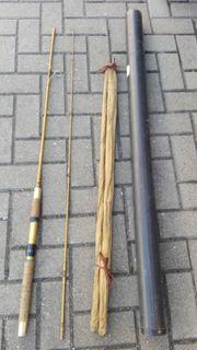 2 alte Angelruten für Sammler