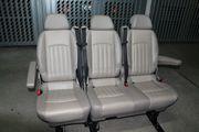 2 1 Sitzbank 2 Einzelsitze