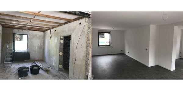 Renovierung Laminat Hochbau sanierung Altbausanierung