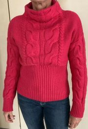 Pullover Farbe Himbeere Gr 36