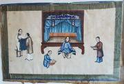Malerei auf Reispapier