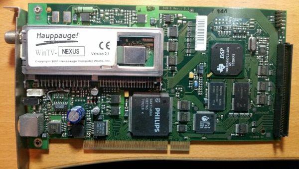 Verschiedene TV PC Multimedia Karten