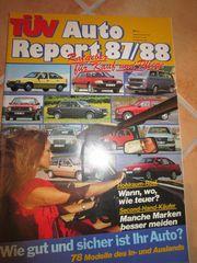 Autobuch Autozeitschrift TÜV - Auto Report
