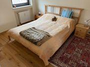 Ikea-Bett 160 cm mit Ikea-Matratze