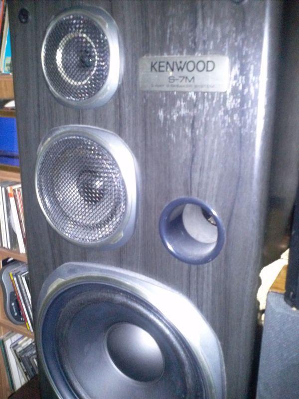 Kenwood S- 7M Lautsprecher - Selten