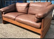 Danish Design Teak Holz Sofa