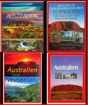 AUSTRALIEN NEUSEELAND - 9 Text- Bildbände