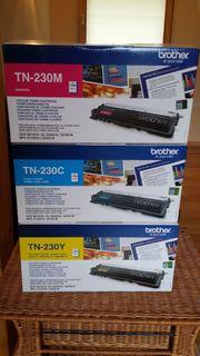 3 Druckpatronen Tuner - Brother TN-230