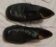 Anzugschuhe Jomas Comfort schwarze Lederhalbschuhe