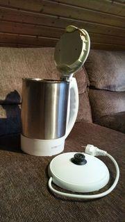 Wasserkocher Clatronic Edelstahl