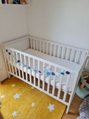Babybett Ikea Sundvik neuwertig