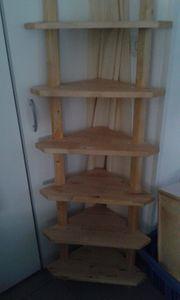 Eckregal Holz Ikea stabil