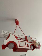 Kinderzimmer Lampe Feuerwehr