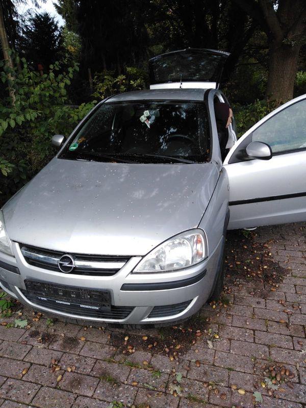 Opel corsa C Klein schaden