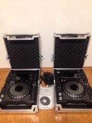 2x Pioneer CDJ-2000NXS Turntable Zwei