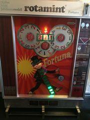 Geldspielautomaten Fortuna auf Euro umgestelt