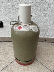 Propangas Flasche 5kg Füllstand 70