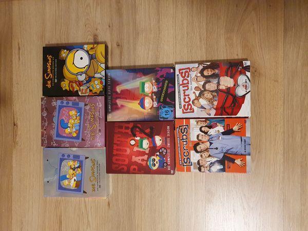 Verkaufe diverse Fernsehstaffeln auf Dvd