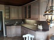 Küche mit Esstisch Eckbank und
