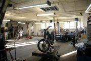 4 Plätze in ehemaliger Werkstatt
