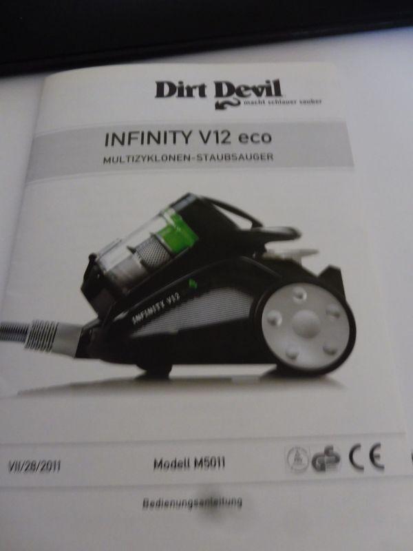Dirt Devil infinity V 12