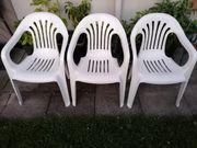6 x Gartenstühle