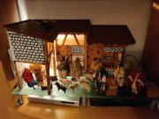 Einzelstück - Weihnachtskrippe - Liebevoll handgefertigt
