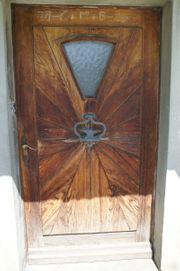 Holz-Eingangs-Türe