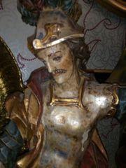 Heiliger Florian Antik 24 Karat